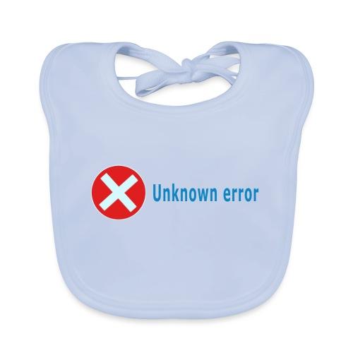 Unkown Error - Vauvan ruokalappu