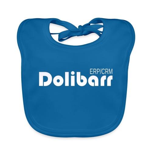 Dolibarr logo white - Organic Baby Bibs