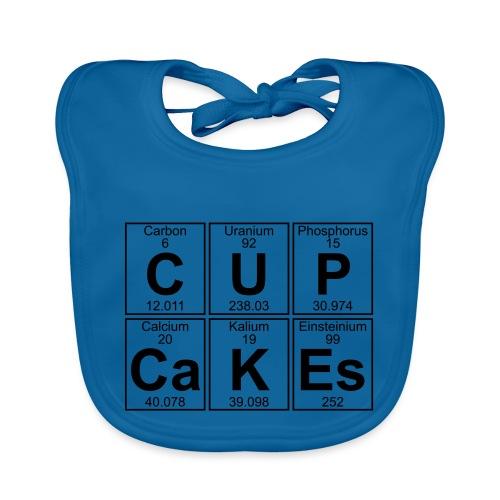 C-U-P-Ca-K-Es (cupcakes) - Full - Organic Baby Bibs