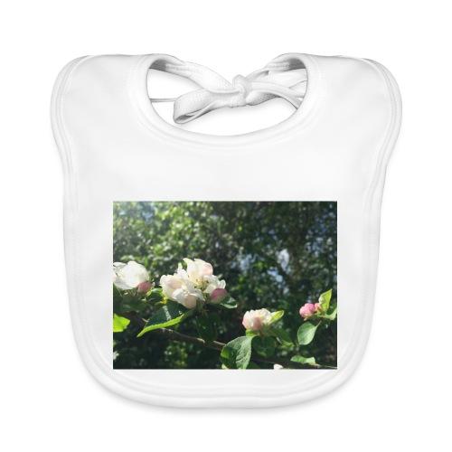 The Flower Shirt - Æbleblomster - Hagesmække af økologisk bomuld