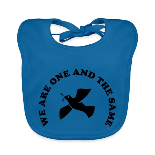 We are one and the same - Organic Baby Bibs