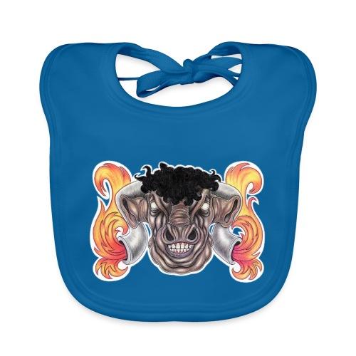 Taurus The Bull God - Baby Organic Bib