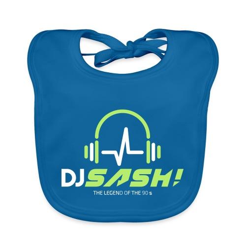 DJ SASH! - Headfone Beep - Baby Organic Bib
