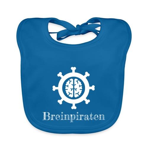 Breinpiraten logo - Bio-slabbetje voor baby's