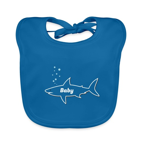 Baby shark - Fathers Day gift - Matching outfit - Baby Bio-Lätzchen