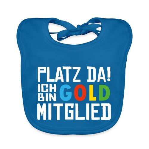 SuK - Platz Da! Ich bin GOLD Mitglied - Baby Bio-Lätzchen