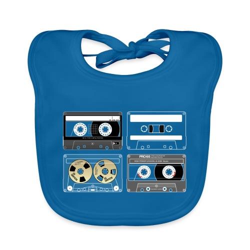 4 cassettes - Organic Baby Bibs