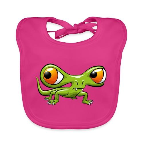 Monster Echse - Baby Bio-Lätzchen