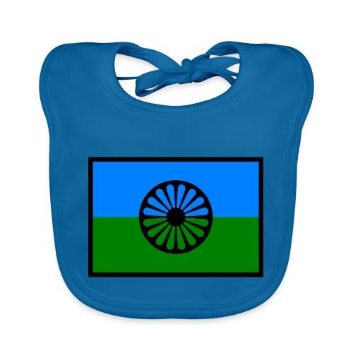 romaniflaga - Ekologisk babyhaklapp