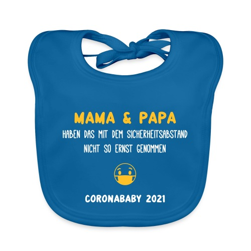coronababy 01 - Baby Bio-Lätzchen