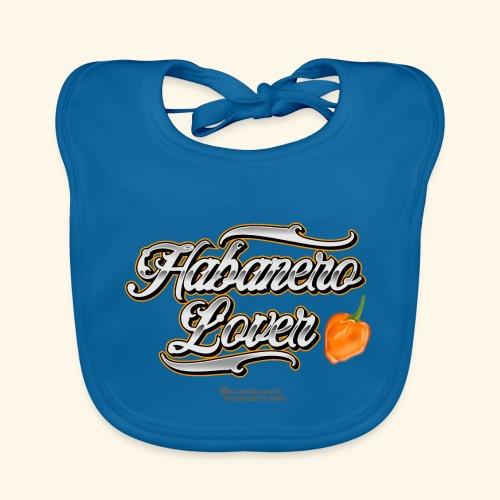 Chili Pepper Habanero Lover Biker Tattoo Style - Baby Bio-Lätzchen