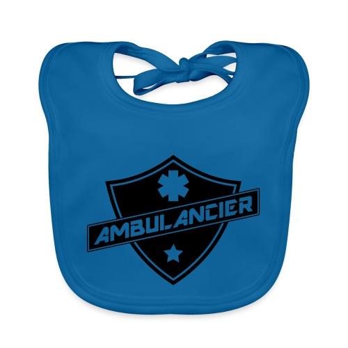 blason ambulancier - Bavoir bio Bébé