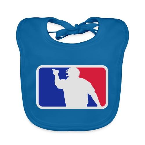 Baseball Umpire Logo - Baby Organic Bib