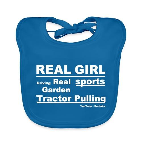 teenager - Real girl - Hagesmække af økologisk bomuld