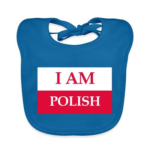 I am polish - Ekologiczny śliniaczek