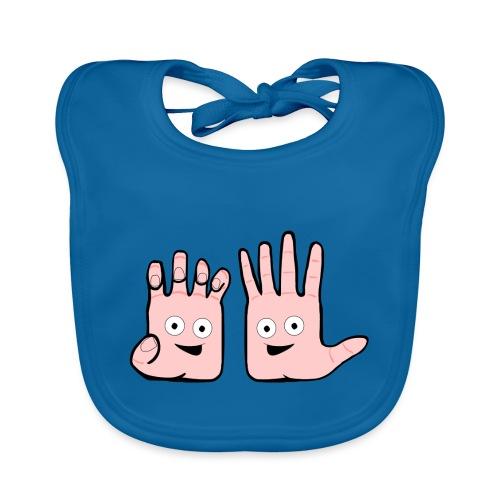 Winky Hands - Baby Organic Bib