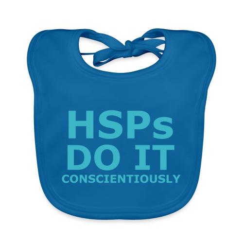 Do It hsPs women's t-shirt - Baby Organic Bib