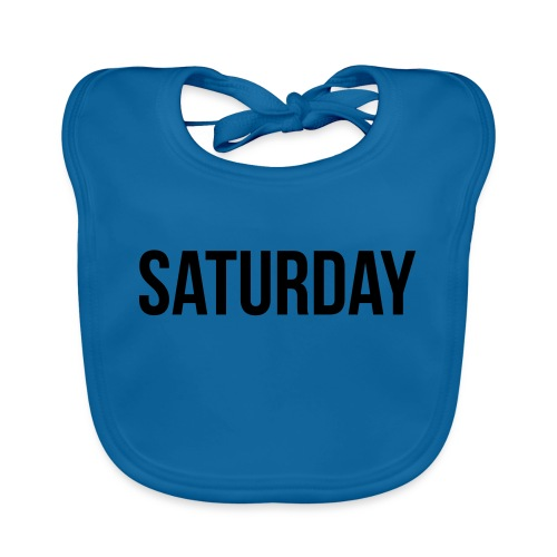 Saturday - Baby Organic Bib