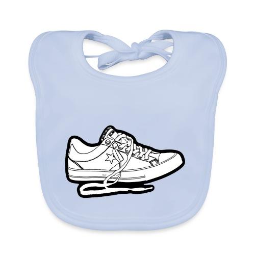 Sneaker - Ekologisk babyhaklapp