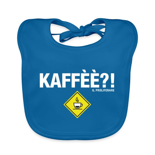 KAFFÈÈ?! by Il Proliferare - Bavaglino ecologico per neonato