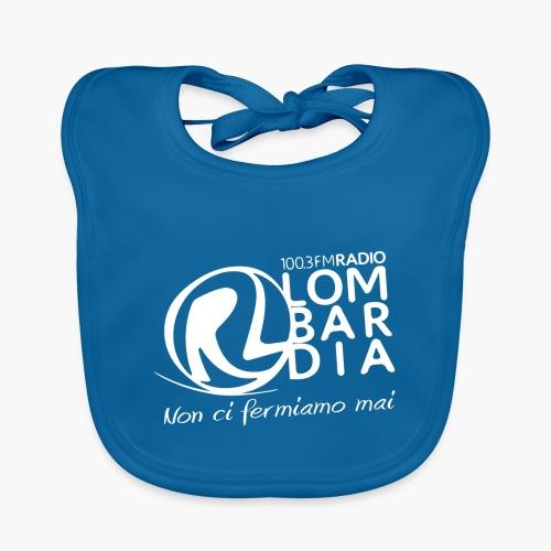 Uomo - Maglietta - Logo Bianco - Bavaglino