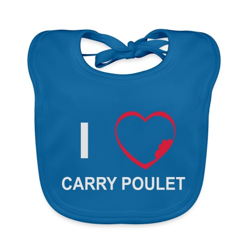 i love CARRY POULET - Bavoir bio Bébé