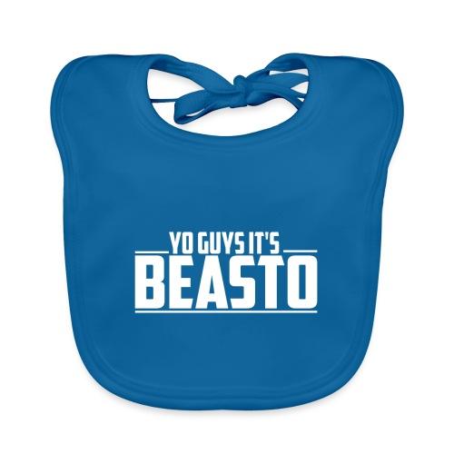 'Yo Guys It's Beasto' Cap Design - Baby Organic Bib