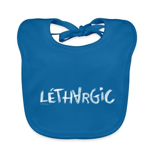lethargic blanc - Bavoir bio Bébé