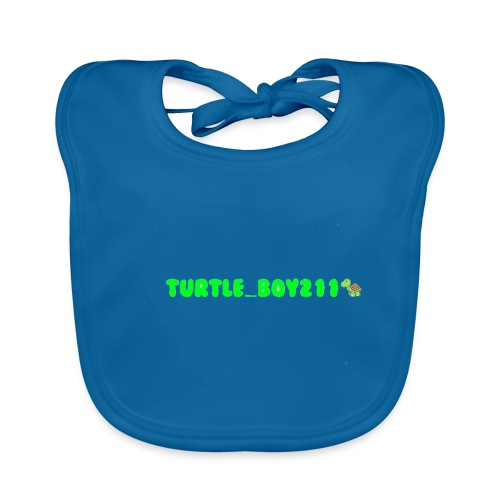 Turtle_Boy211 Merch for Kids! - Baby Organic Bib