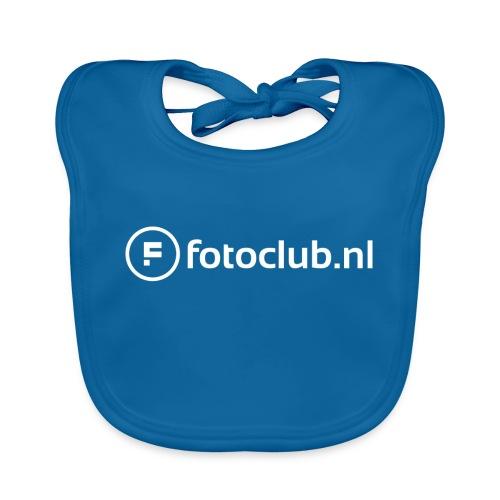 Logo Wit Fotoclublnl - Bio-slabbetje voor baby's