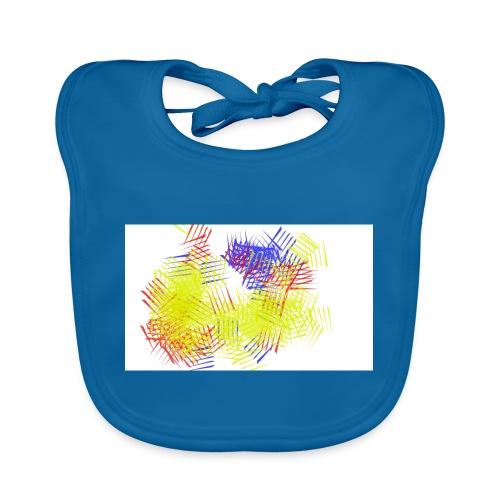 colores - Babero de algodón orgánico para bebés