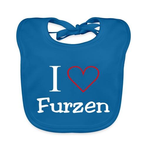 I Love Furzen - Baby Bio-Lätzchen