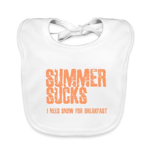 SUMMER SUCKS - Bio-slabbetje voor baby's