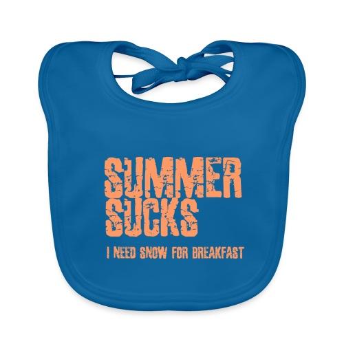 SUMMER SUCKS - Baby Organic Bib