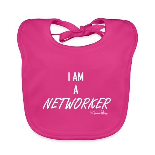 I AM A NETWORKER - Bavoir bio Bébé