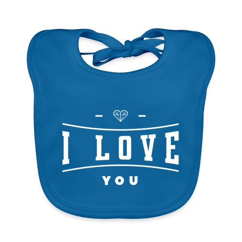 i love you3 - Ekologiczny śliniaczek