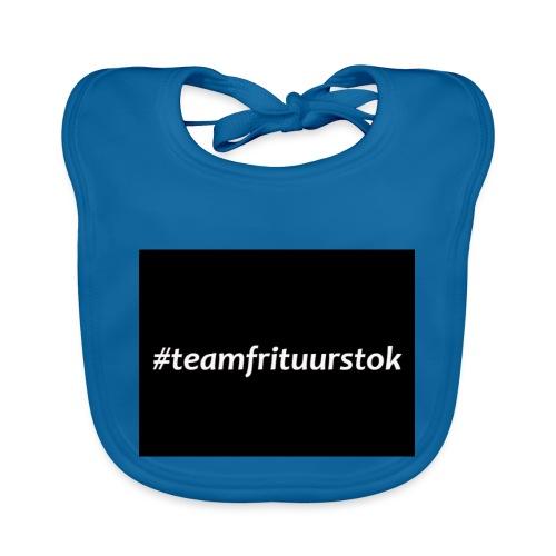 #teamfrituurstok - Bio-slabbetje voor baby's