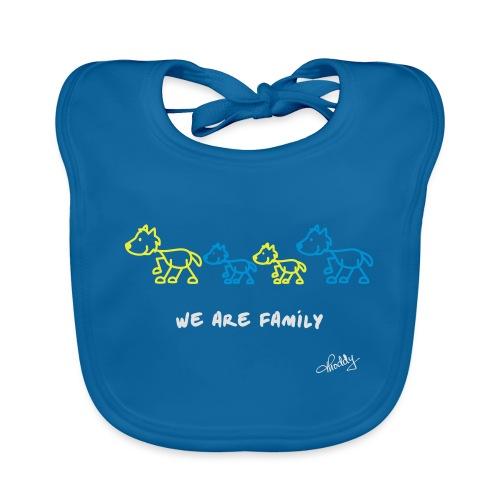 We are Family - Baby Bio-Lätzchen