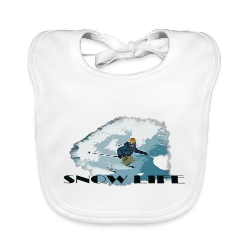 snow life - Baby Bio-Lätzchen