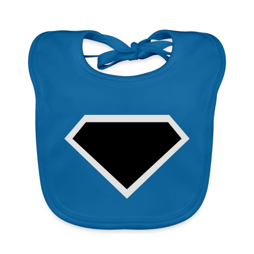 Diamond Black - Two colors customizable - Bio-slabbetje voor baby's