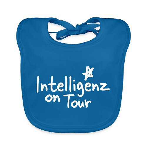 Nerd Shirt Intelligenz on Tour - Baby Bio-Lätzchen
