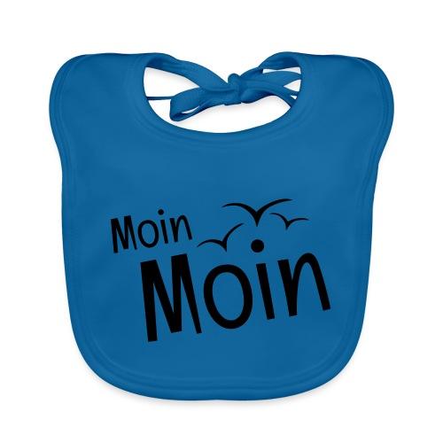 Moin Moin mit Möwen - Baby Bio-Lätzchen