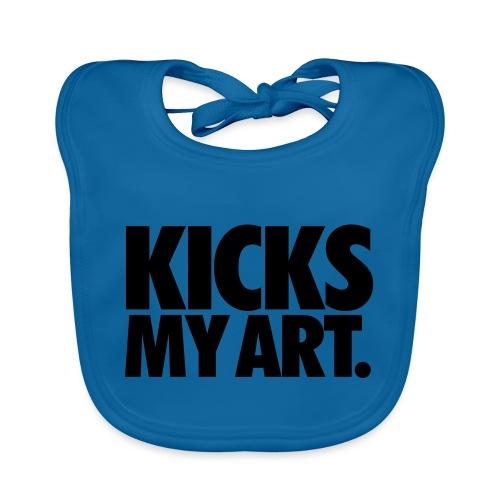 Kicks My Art By MizAl - Bavoir bio Bébé