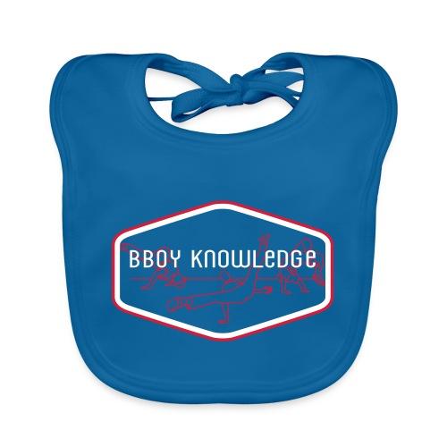 Bboy Knowledge 1st generation Logo - Bavoir bio Bébé