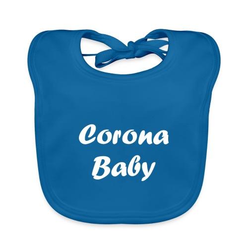 Corona baby merchandise white - Organic Baby Bibs