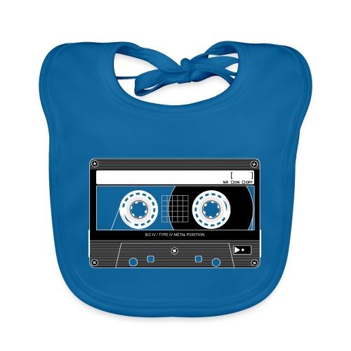 TDK Cassette Metal 90s - Organic Baby Bibs