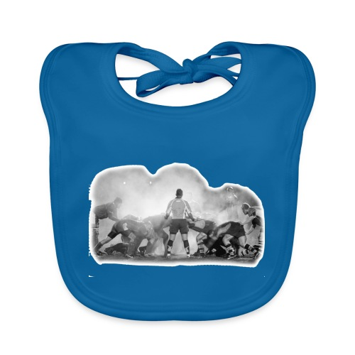 Rugby Scrum - Organic Baby Bibs