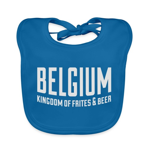 Belgium kingdom of frites & beer - Bavoir bio Bébé