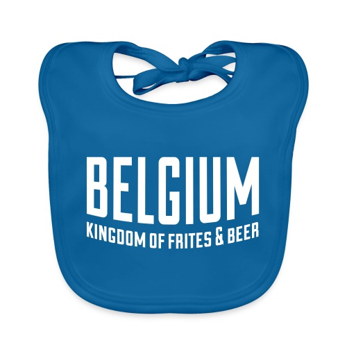 Belgium kingdom of frites & beer - Bavoir bio Bébé
