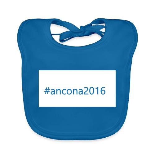 #ancona2016 - Babero de algodón orgánico para bebés